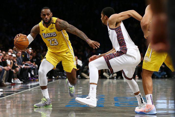 LeBron James hefur átt frábært tímabil með Los Angeles Lakers.
