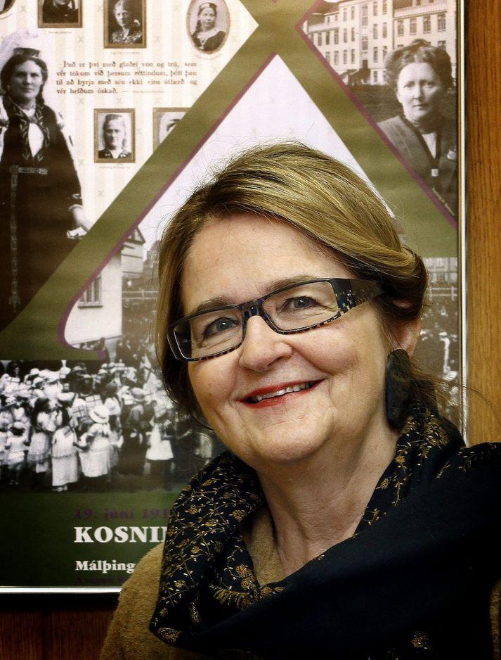 Ásta Ragnheiður Jóhannesdóttir, formaður siðanefndar Alþingis.