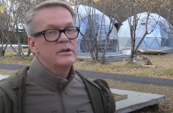 Ásgeir Kr. Ólafsson er talsmaður hópsins.
