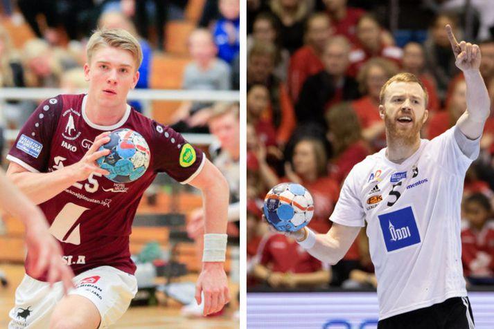 Haukur Þrastarson og Ásbjörn Friðriksson.