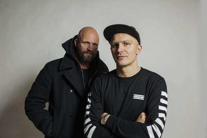 Robbi Kronik og Benni B-Ruff verða á Prikinu annað kvöld.