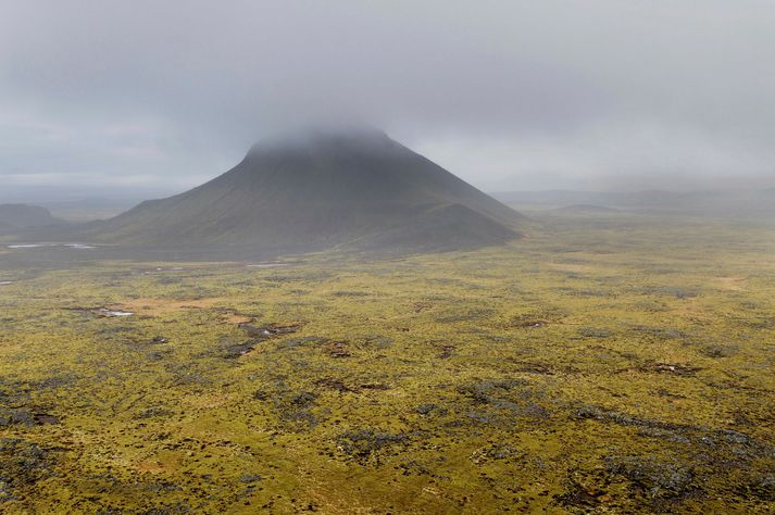 Allra augu beinast að Keili og hrauninu í kring vegna óróa sem mælist á jarðskjálftamælum.