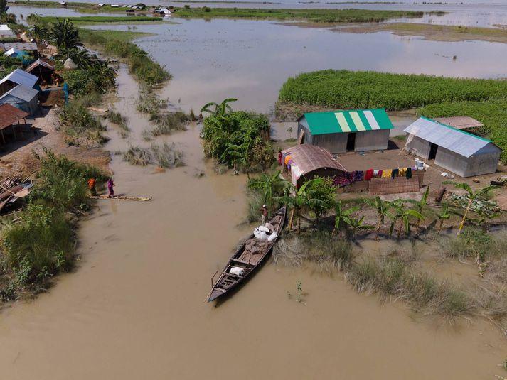 Ljósmynd frá Bangladess