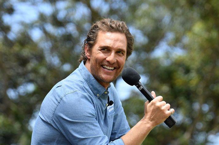 Matthew McConaughey hefur gefið orðrómi um mögulegt framboð hans byr undir báða vængi.