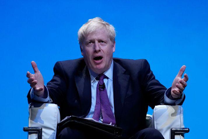 Boris Johnson, fyrrverandi borgarstjóri Lundúna og utanríkisráðherra Bretlands, kveðst ekki ætla að tjá sig um meintar heimiliserjur sínar.