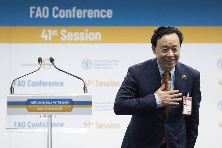 Qu Dongyu nýr framkvæmdastjóri FAO.