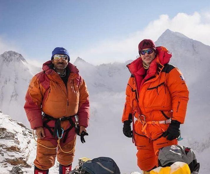 Ali Sadpara og John Snorri Sigurjónsson voru í hópi þeirra sem reyndu að klífa K2 að vetrarlagi, fyrstir manna.