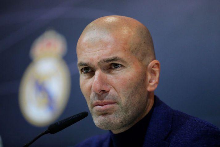 Zidane er tilbúinn að taka við Manchester United ef þess þarf