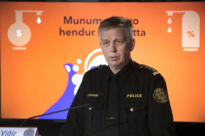 Víðir Reynisson, podczas dzisiejszej konferencji prasowej