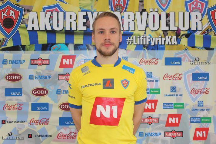 Almarr Ormarsson er mikill KA-maður.