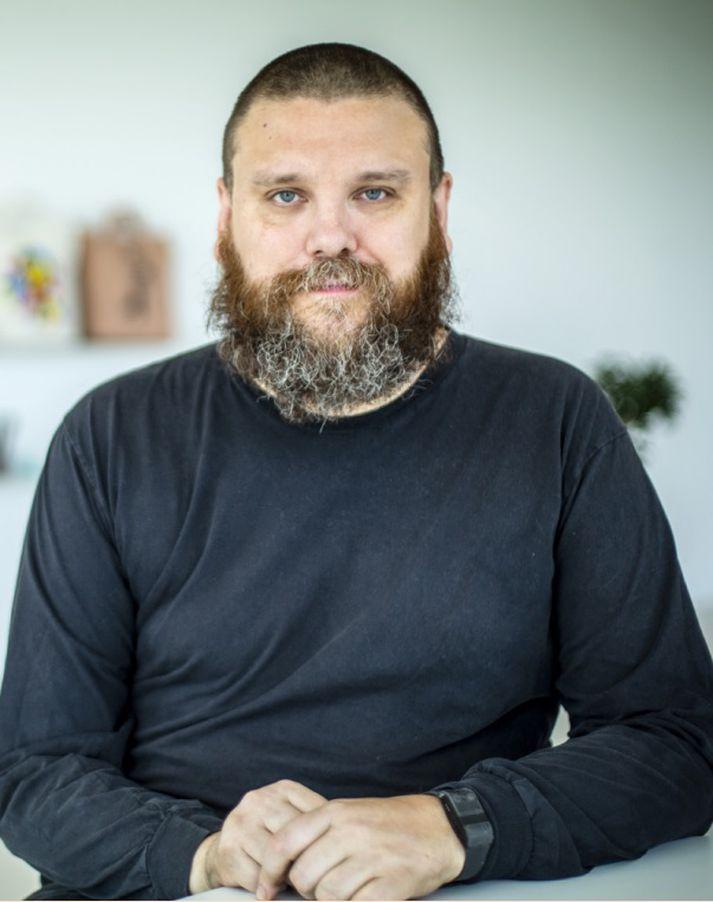 HaraldurÞorleifsson stofnaði fyrirtækið einn síns liðs árið 2014.