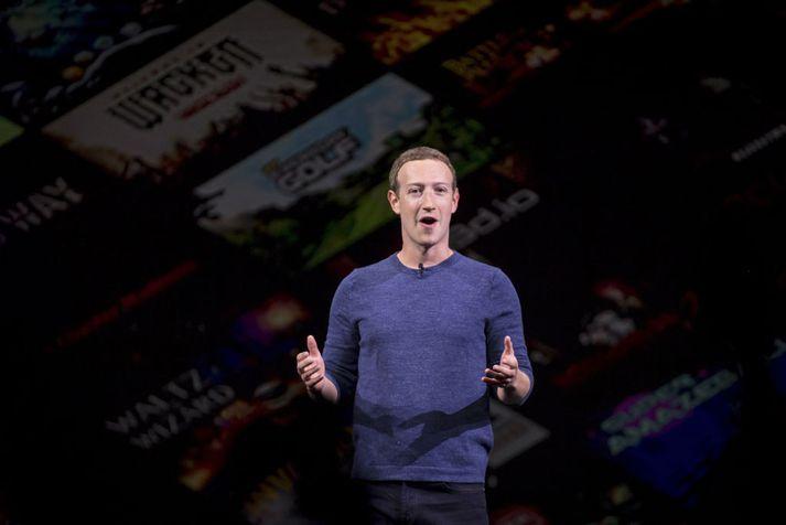 Mark Zuckerberg, stofnandi Facebook, er skrifaður fyrir tölvupóstum sem finna má í gögnunum.