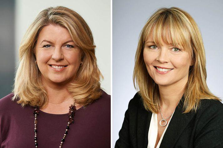 Hrund Rudolfsdóttir og Sigrún Ragna Ólafsdóttir.