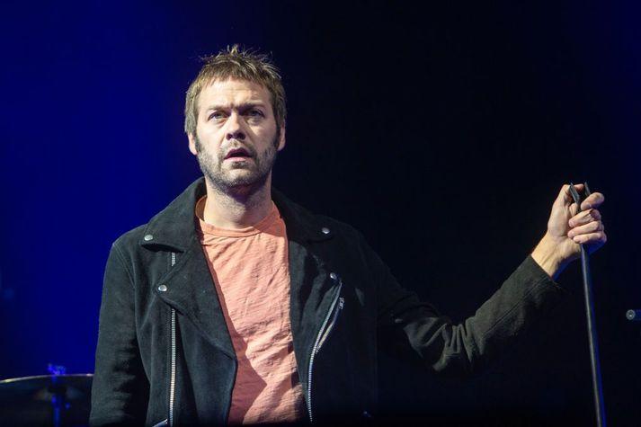 Tom Meighan á tónleikum Kasabian í Edinborg árið 2018.