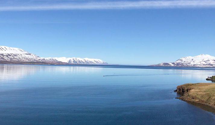 Eyjafjörður er sjókvíalaus, enn sem komið er.