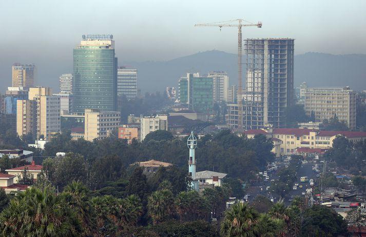 Frá Addis Ababa, höfuðborg Eþíópíu.