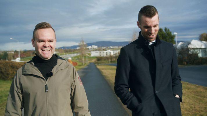 Pétur Jóhann ræddi við Kjartan Atla í Íslandi í dag í gærkvöldi.