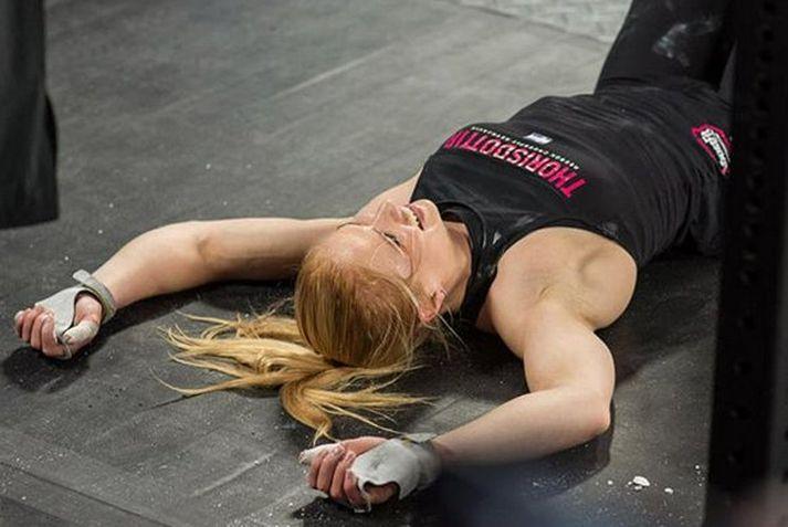 Anníe Mist Þórisdóttir er fyrrum heimsmeistari í Crossfit.