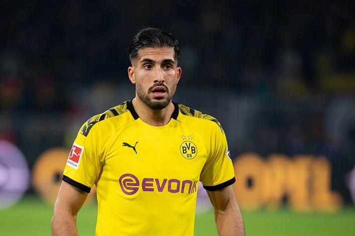 Emre Can í búningi Dortmund.