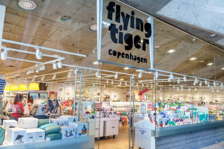 Vöruúrvalið í Flying Tiger Copenhagen, sem hét áður Tiger, er fjölbreytt.