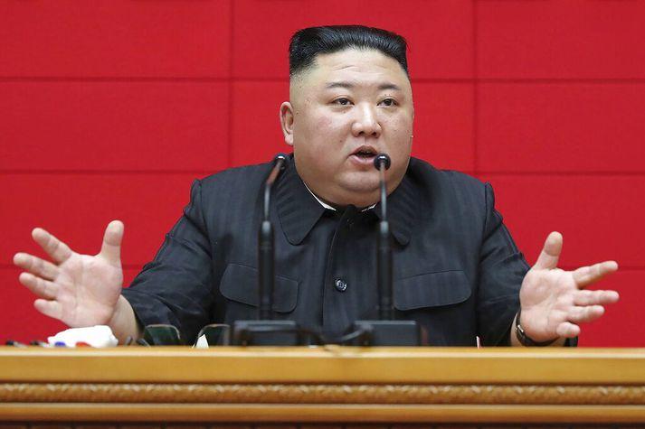 Kim Jong-un freistar þess að stjórna því hvaða upplýsingar íbúar landsins hafa aðgang að, ekki síst til að tryggja eigin stöðu.