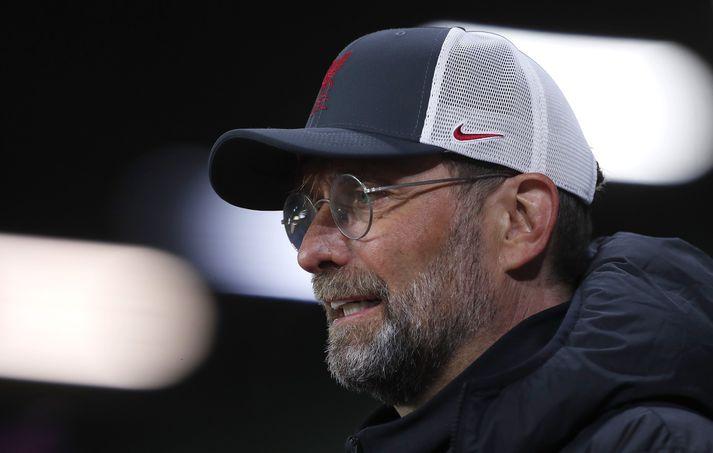 Jürgen Klopp var ekki sáttur með ummæli Garys Neville um Liverpool og ofurdeildina.