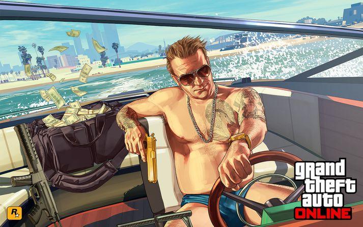 Grand Theft Auto V hefur halað inn rúmlega sex milljörðum dala en framleiðsla hann kostaði einungis 265 milljónir.