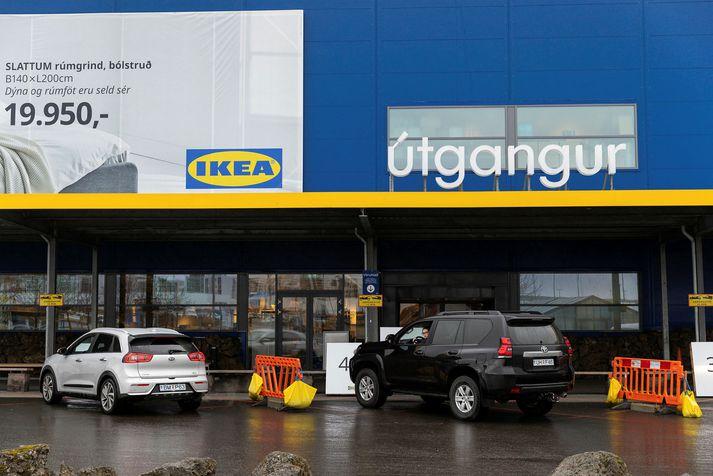 Verslun Ikea í Garðabæ.