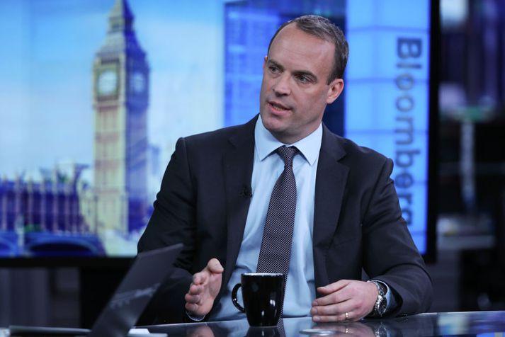 Dominic Raab, fyrrverandi Brexitmálaráðherra.