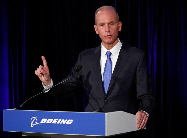 Dennis Muilenburg, forstjóri Boeing.