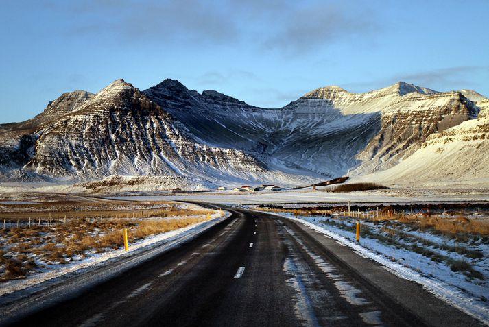 Vegir á sunnanverðu Snæfellsnesi eru lokaðir.