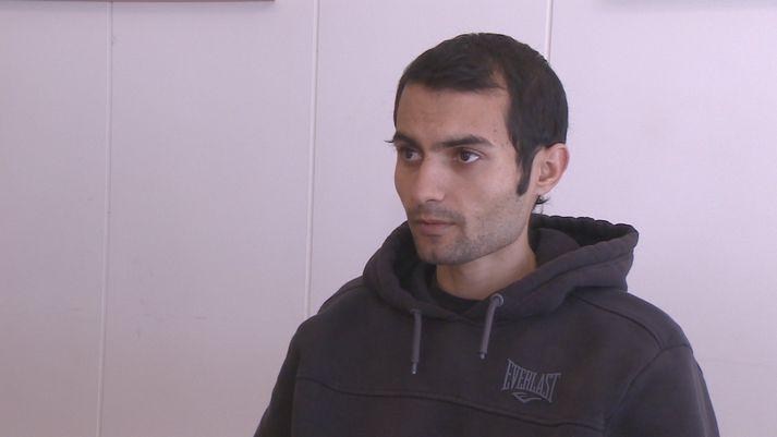 Amin Ghayszadeh er 26 ára gamall og fæddur í Íran.