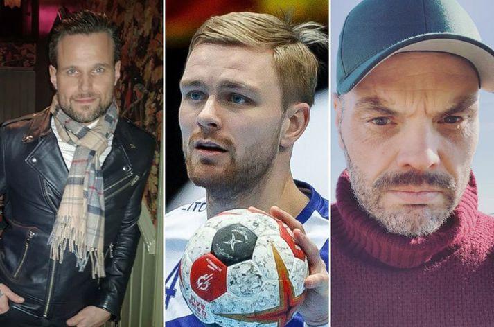 Kristján Grétarsson, Aron Pálmarsson og Björn Ingi Hrafnsson eiga það allir sameiginlegt að vera einhleypir.