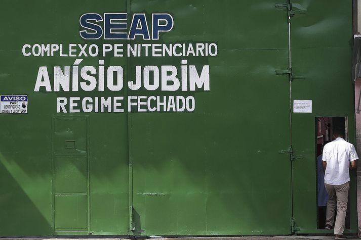 Anisio Jobim-fangelsið í Manaus þar sem fangar voru drepnir.