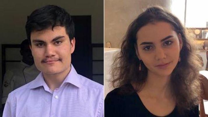 Daniel og Amelie Linsay létust í hryðjuverkaárásinni í Srí Lanka á páskadag.