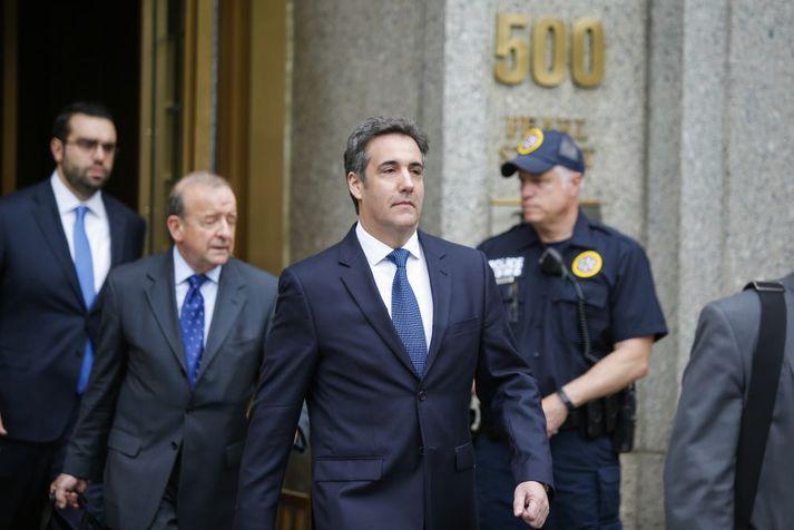Michael Cohen var náinn samstarfsmaður Donalds Trump til margra ára.