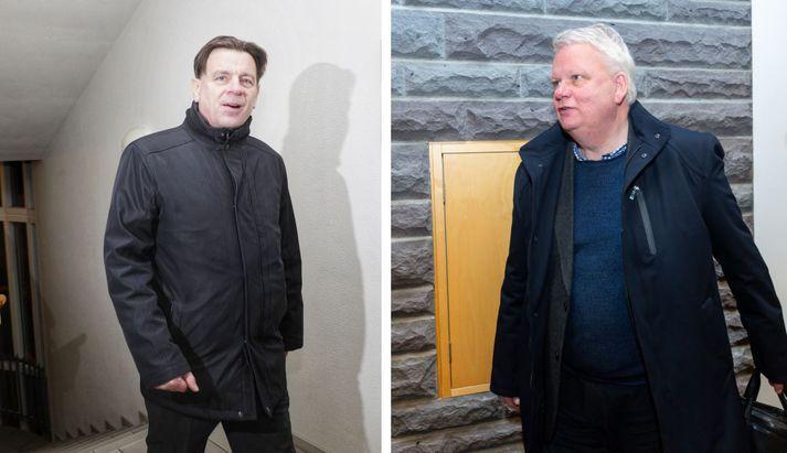 Karl Gauti Hjaltason og Ólafur Ísleifsson, eru ekki lengur þingmenn Flokks fólksins.