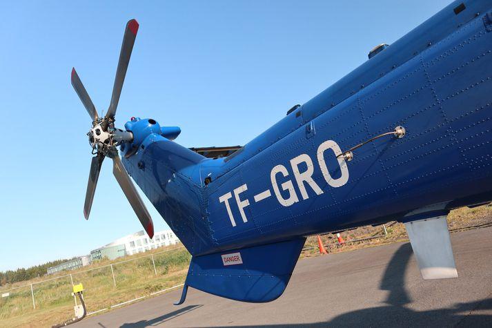 TF-GRO er af gerðinni Airbus H225