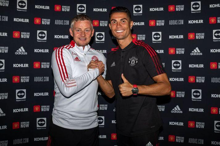 Cristiano Ronaldo er mættur á Old Trafford og því fylgja enn meiri kröfur um árangur, eins og Ole Gunnar Solskjær veit vel.