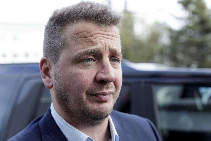 Guðlaugur Þór Þórðarson, utanríkisráðherra og þingmaður Sjálfstæðisflokksins í Reykjavík.