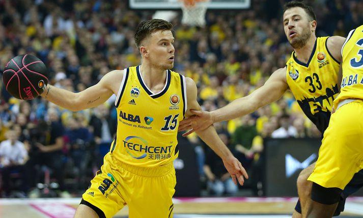 Martin Hermannsson fór enn á ný fyrir liði Alba Berlín í kvöld.