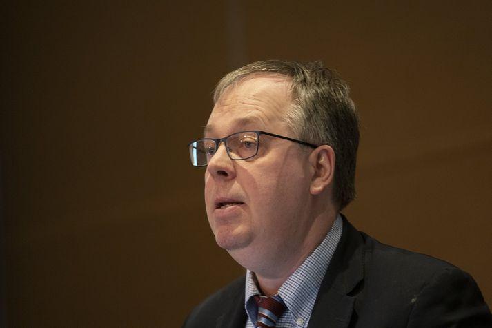 Gylfi Zoega, prófessor í hagfræði við Háskóla Íslands.