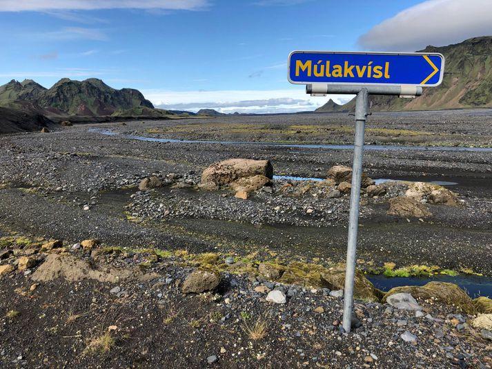 Ekki er talin mikil hætta á hlaupi í Múlakvísl en þó hefur mikið magn jarðhitavatns streymt í ánna síðustu daga.
