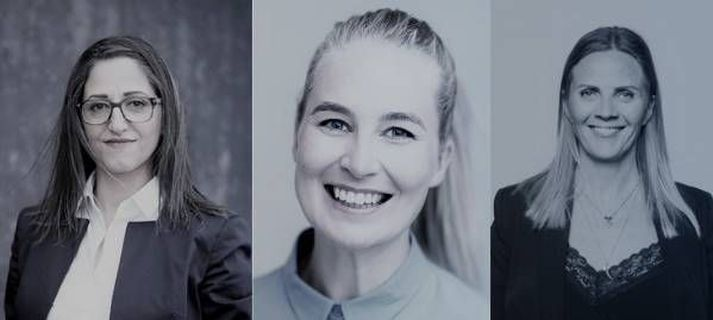 Nýliðun í stjórn UN Women: Anna Steinsen, Fida Abu Libdeh og Áslaug Eva Björnsdóttir.