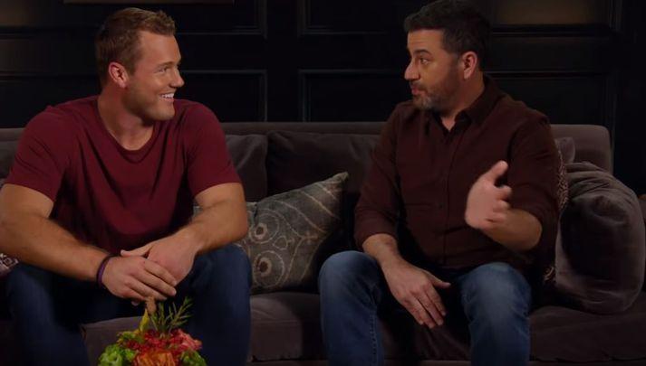 Fróðlegt var fyrir Colton að fara til Kimmel.