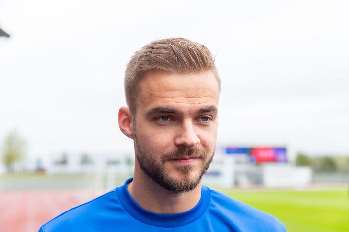 Hólmar Örn er að koma til baka eftir meiðsli.