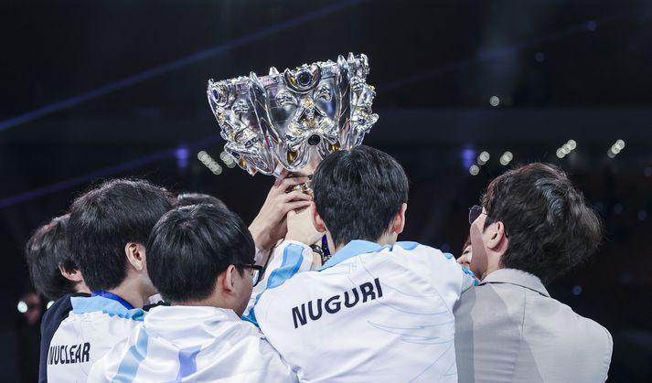 Damwon Gaming vann heimsmeistaramótið í Kína í fyrra.