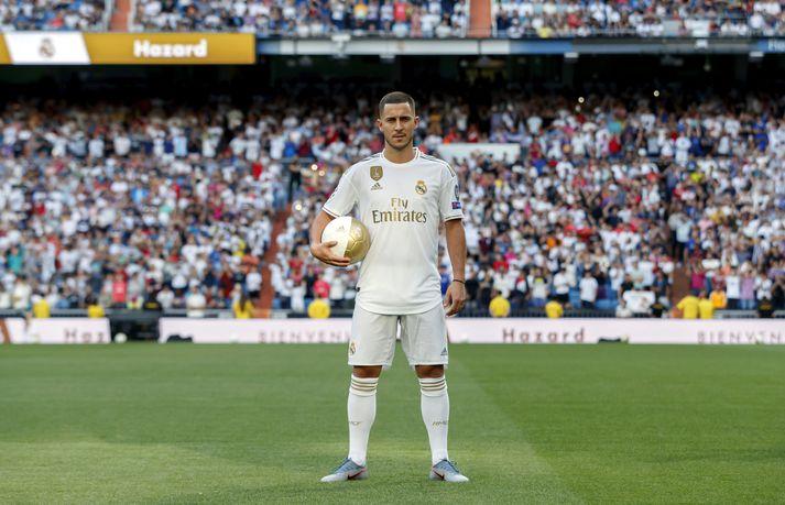 Hazard er dýrasti leikmaður í sögu Real Madrid.