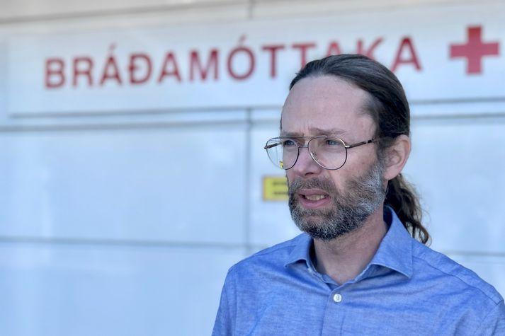 Hjalti Már Björnsson er yfirlæknir á bráðamóttöku Landspítalans.