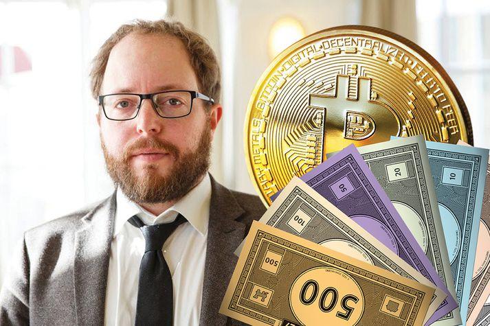 Smári segist finna fyrir örlítilli eftirsjá að hafa ekki fjárfest meira í Bitcoin á sínum tíma.